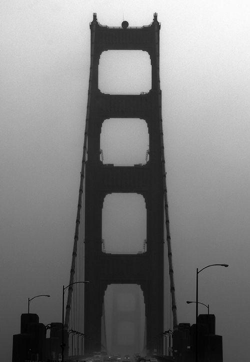 golden gate bridge fog. Golden Gate Bridge, Fog